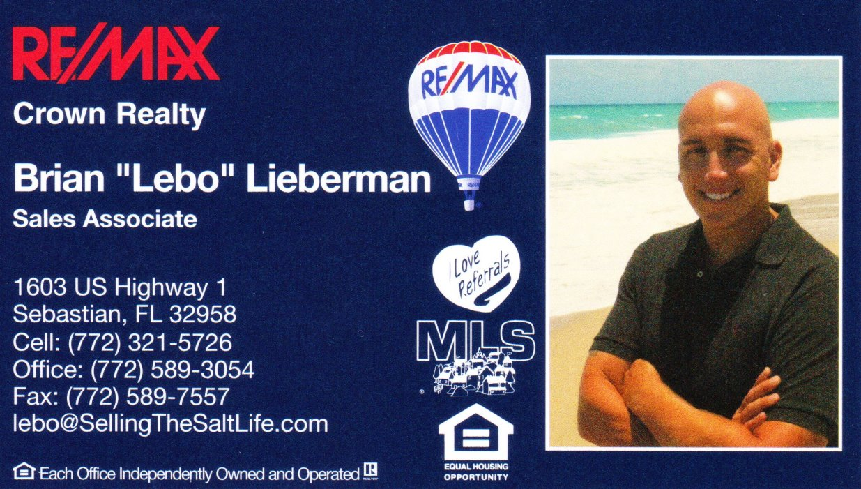 Selling the Salt Life  Re/Max Crown Realty