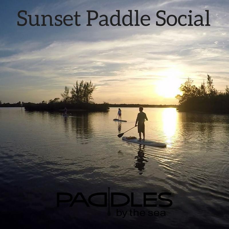 Sunset Paddle Social