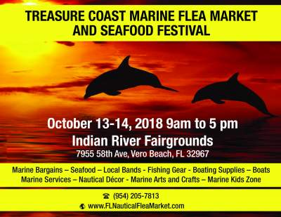 The Treasure Coast Marine Flea Market And Seafood Festival