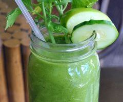 Large Super Green Smoothie