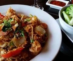 Spicy Thai Noodles & Shrimp