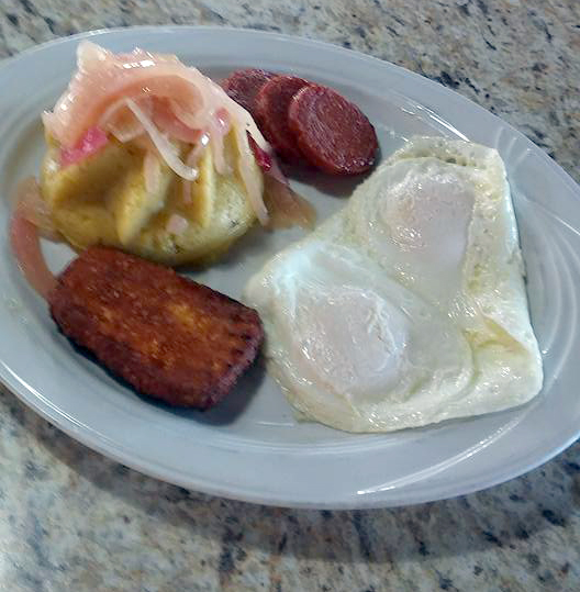 Latin American Breakfast