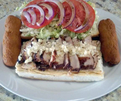 Jerk Chicken Breast Sandwich