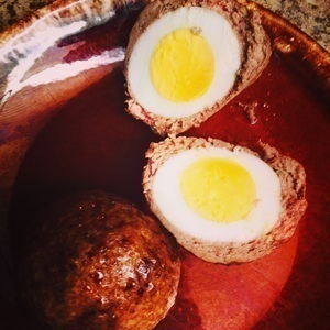 Scotch eggs!