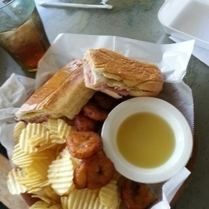 The best Pressed Cuban with Plantain & Mojo