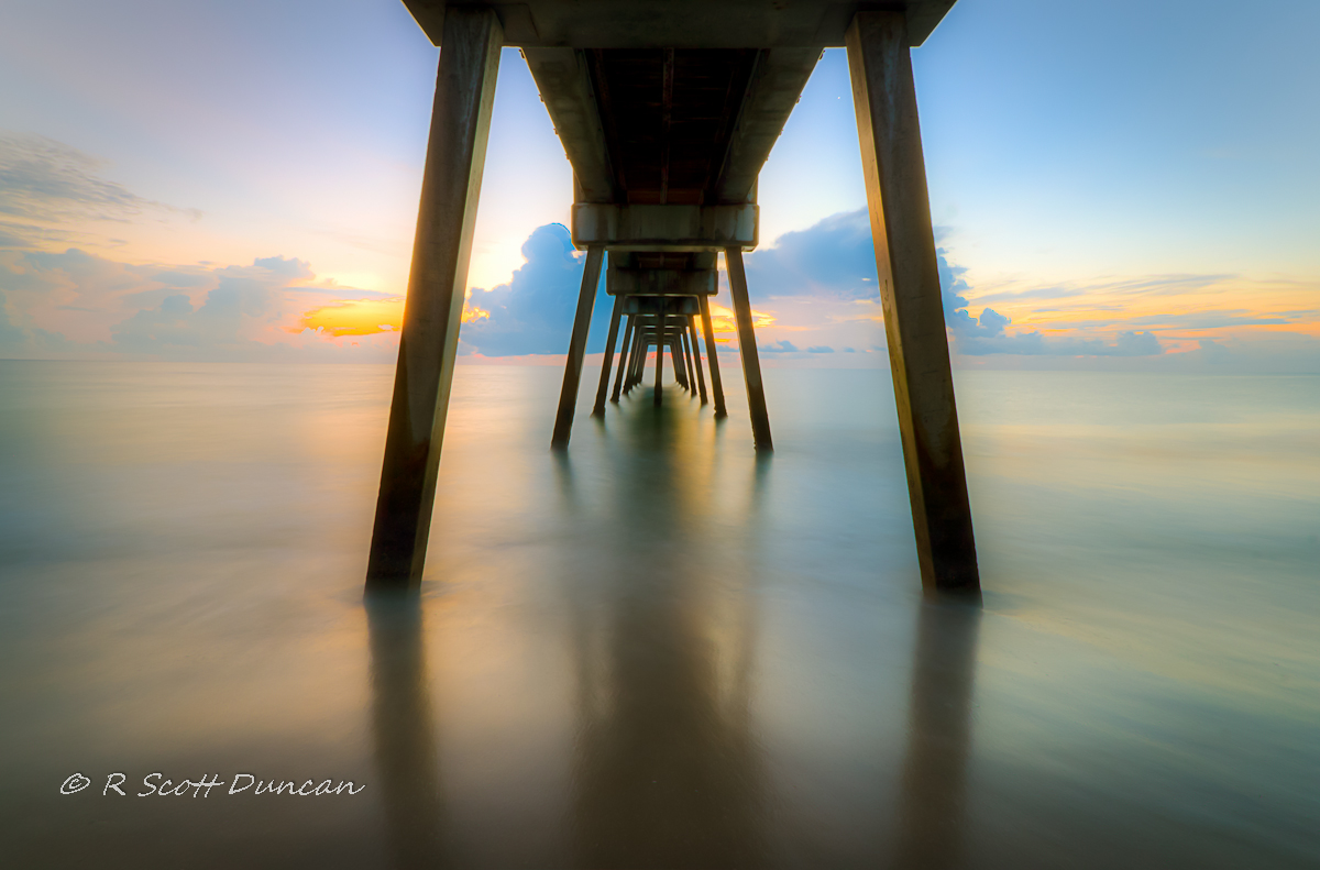 Vero Pier - Long Exposure