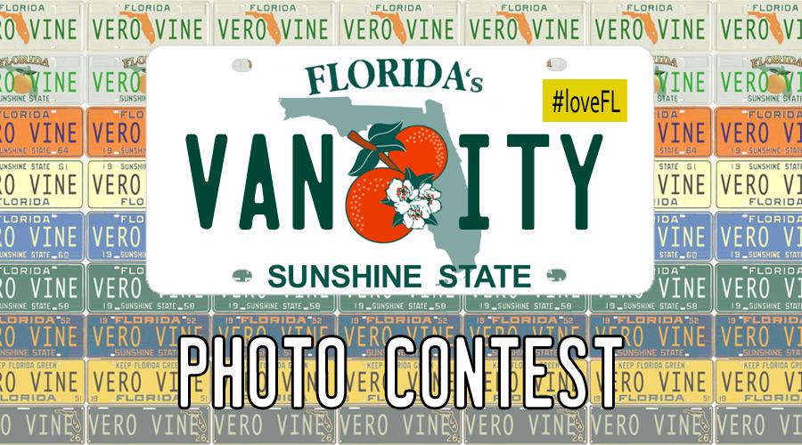 Florida's Vanity License Plate Photo Contest